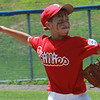Rich Winchell pitching for East Lynn in the City Series on Saturday.