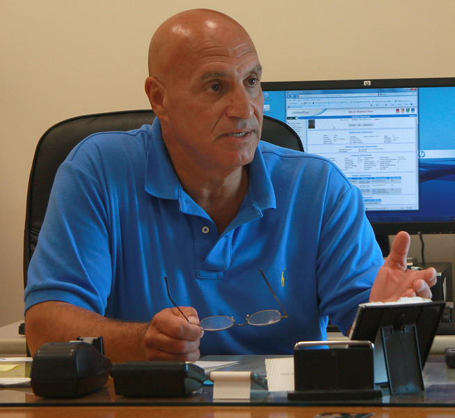 Gene Constantino, the principal of Lynn Classical High School, talks about the drowning of Salim Fort.