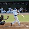 Jason Banos at bat at the North Shore Navigators game Wednesday July 28, 2010. Item Photo/ Reba M. Saldanha