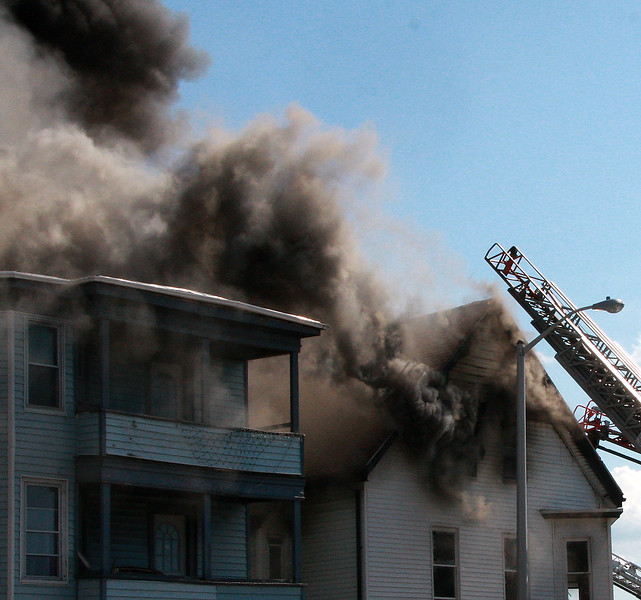 3 Alarm at Summer, Light and Western.