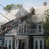 A fire broke out at 13 Portland Street in Lynn just after noon today.