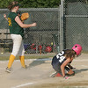 Swampscott's Madeline Dove and WLA's Ivy Martin in the Dist. 16 championship game at Lynn Woods field Wednesday July 7, 2010. Item Photo/ Reba M. Saldanha
