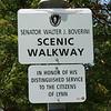 The Walter Boverini Scenic Walkway in Lynn.