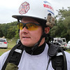 North Reading Fire Fighter Eric Pepper speaks during the Essex County Technical Rescue team training in Lynn Monday Sept 13, 2010. Item Photo/ Reba M. Saldanha