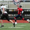Kennedy Gomes runs for a touchdown.