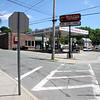 The corner of Jliff and Walnut Street.