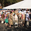 senior citizens were at GLSS in great numbers this morning for free coupons for Farmer's Market.