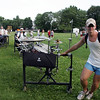 Spirit of Atlanta Drum and Bugle Corps's Will Reynolds of South Dakota packs up after practice at Hood Park in Lynn Tuesday July 5, 2011. Item Photo/ Reba M. Saldanha