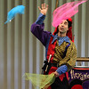 Alex the Jester performed at the Swampscott Library today to a full house.