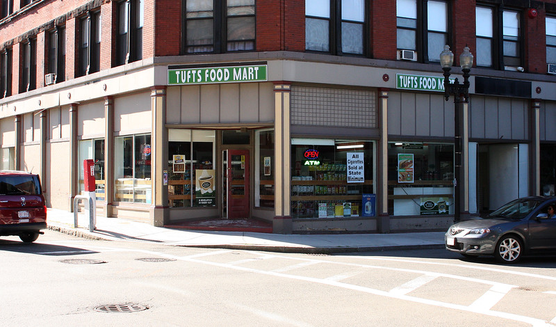 New Store on the corner of Munroe and Washington Streets Lynn.