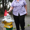 Joan Walton and her Gnome