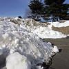 Snow at Anna Parker Field in Saugus Monday Jan 31, 2011. Item Photo/ Reba M. Saldanha