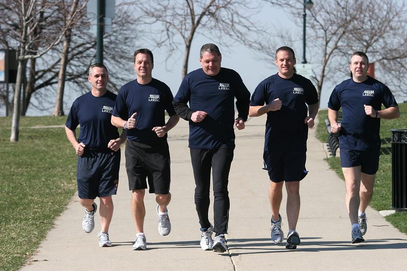 Glenn Dunnigan, Gary Hagerty, Brian Chisholm, Rob Avery, and John McKenna.