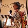 Designer Sara Campbell at the Wearable Art fashion show at the Lynn Museum Thursday May 12, 2011. Item Photo/ Reba M. Saldanha