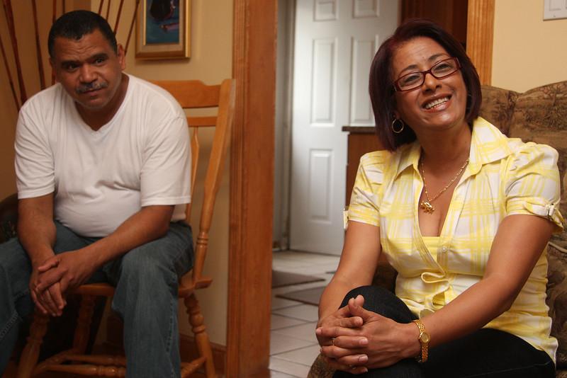 foster parents Michy Sanchez, and Franscisco Brea