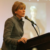 Attorney General Martha Coakley was the keynote speaker at the North Shore Chamber of Commerce breakfast held at the Crowne Plaza in Danvers this morning