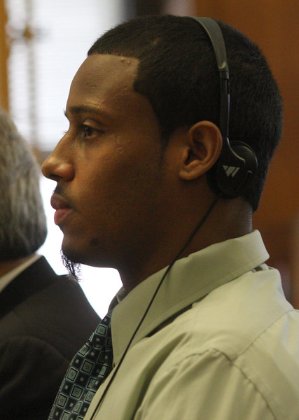 Yeison Arias on trial in Salem Superior Court today.
