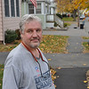 Peter Bradley is seen outside his home on Sunnyside Park Monday. Item Photo / Matt Tempesta