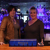 Kristy Cahill, left, and Amanda Stevens behind the bar at the Northern Nights.