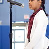 Nena King competes in the KIPP Academy spelling bee on Friday, February 28. Item Photo / Angela Owens.