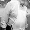 John Pace, who cooked the food for the Friendly Knights of Saint Patrick dinner, poses for a photo at Old Tyme Italian Cuisine on Thursday, March 13. Item Photo / Angela Owens.