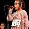 "Lynn, Lynn City Hall. The Daily Item Regional Spelling Bee. Third grader Rebekah Soetan of the Edward Sisson Elementary School, Lynn, spells ""algebra"""