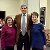 Lynn, Lynn City Hall. The Daily Item Regional Spelling Bee. Sponsors of the Spelling Bee Mary and Joel Abramson, Swampscott, with MayorJudith Kennedy.