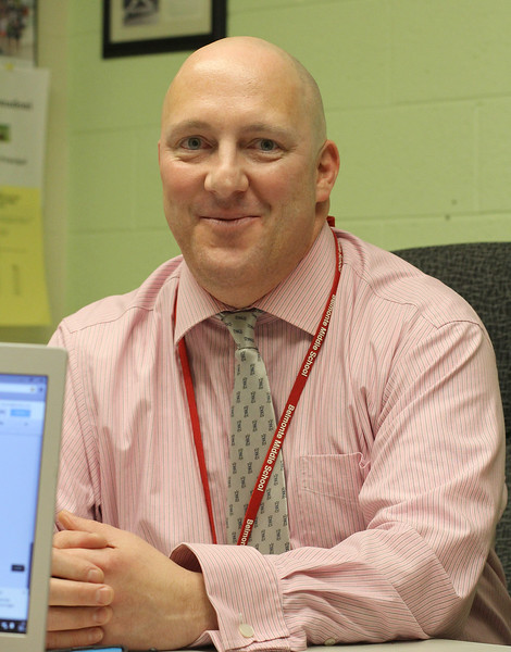 William Donadoni is the new assistant principal at Blemonte Middle School in Saugus.