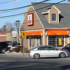 Cars entering and leaving the Dunkin's on Bostn Street in Lynn. Photo by Owen O'Rourke