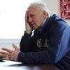 Robert Michael Linnane talks about his experiences as a homeless vet. Photo by Owen O'Rourke