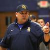 St. Mary's High School baseball coach Derek Dana. Photo by Owen O'Rourke