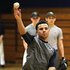 Antino Fleix during baseball practice at St. Mary's High School. Photo by Owen O'Rourke