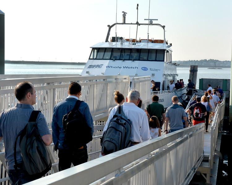 Lynn Ferry, Blossom Street Extension.  <br /> Passengers board 8:00am ferry for Boston