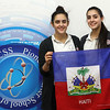 Saugus students Hannah Khafif, lef, and Sabrina Khafif, right, are going to Haiti for spring break. Photo by Owen O'Rourke