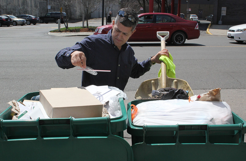 Pastor Eduardo Caceres will be in on the Lynn city wide cleanup this Saturday. Photo by Owen O'Rourke