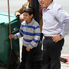 Albaro Zapet, Christian Gonzalez, and Quan Gonzalez, right, will be in on the Lynn city wide clean up this Saturday.