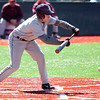 Lynn English's Mike Ausillo (7) bunts during their game against Danvers at Fraser Field on Thursday, April 24. Item Photo / Angela Owens.