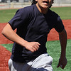 Ali Bdaiwi at the MLB pitch, run, hit competition at <br /> Fraser Field today.