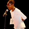 Lynn, City Hall Auditorium.<br /> Victoria Kadiri, grade 7, Kipp Academy Lynn Charter School.