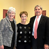 Lynn, Cty Hall.  Dr. Cathy Latham, Mary and Joel Abramson of Swampscott.