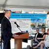 Lynn, Washington Street. Governor Charlie Baker announces $100 Million MassHousing Fund for Creation of Workforce Housing.