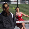 Lily Vu, first doubles, Lynn English.