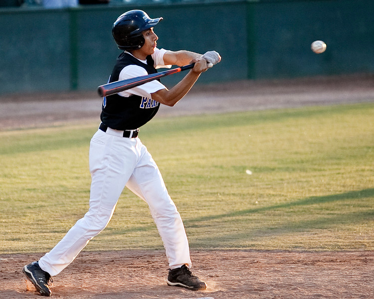 KIPP's Eric Jimenez (13) swings during their game against Salem Academy at Fraser Field on Friday, May 17. Item Photo / Angela Owens.