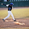 KIPP's Jose Valera (14) swings during their game against Salem Academy at Fraser Field on Friday, May 17. Item Photo / Angela Owens.