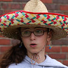 Maggie DiGrande ran the Mexican Hat Dance game at Cinco de Mayo party at the Johnson School in Nahant on Saturday May 5. Photo by Owen O'Rourke