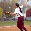Lynn English's Franny Delarosa (2) pitches during their game against Classical at Lynn English on Tuesday, May 6. Item Photo / Angela Owens.