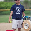 Revere's coach Joe Ciccarello at practice at St. Mary's Field on Tuesday, June 10. Item Photo / Angela Owens.