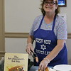 Randy-Sue Abber is hot dog lady for the day.