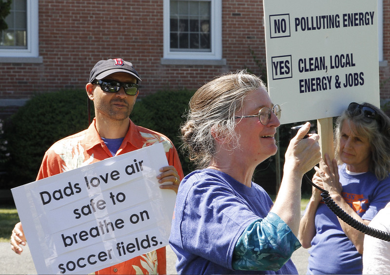 Patricia Hawkins implores Governor Baker to come out for a talk.