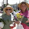 Saugus Garden Club members, Maureen Murray and Kathy Murphy, both from Lynn, carry home purchases from the festival.